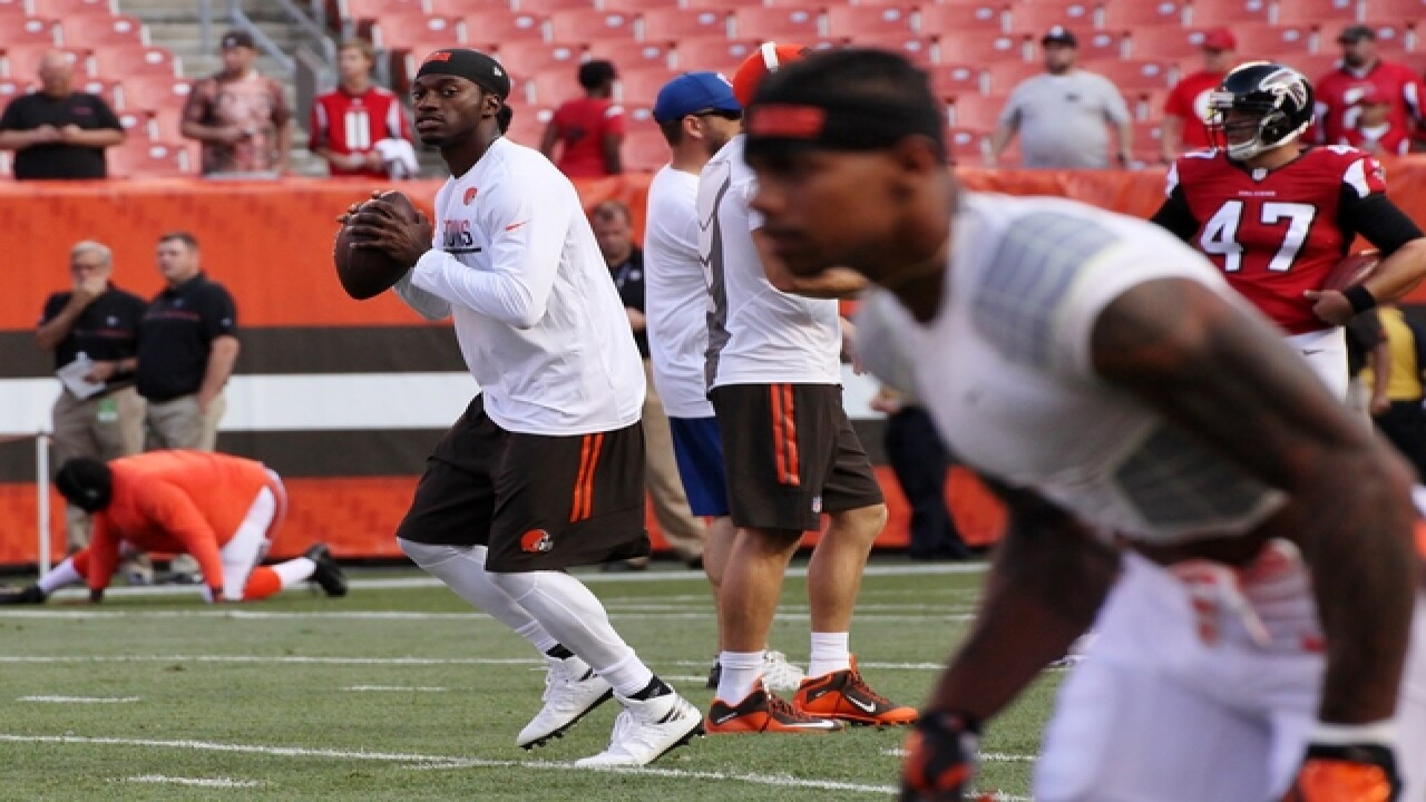 Cleveland Browns vs. Atlanta Falcons Pre Game