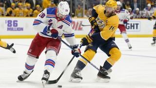 Rangers Predators Hockey
