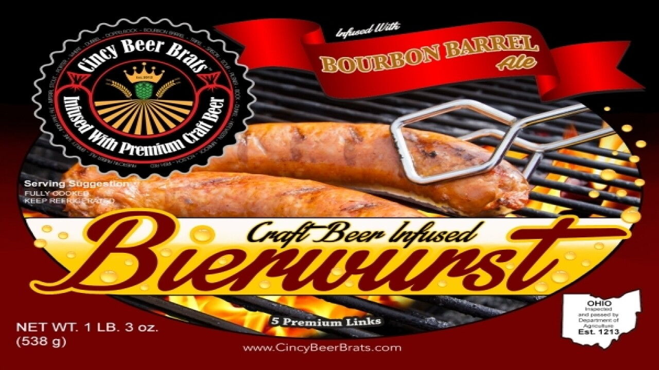 Beer-infused brats. What more do you need?