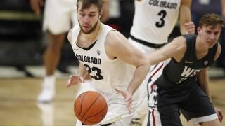 Siewert leads No. 23 Colorado past Washington State 78-56