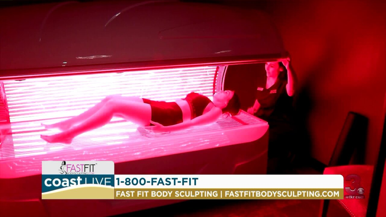 Learning about new fat burning technology on Coast Live