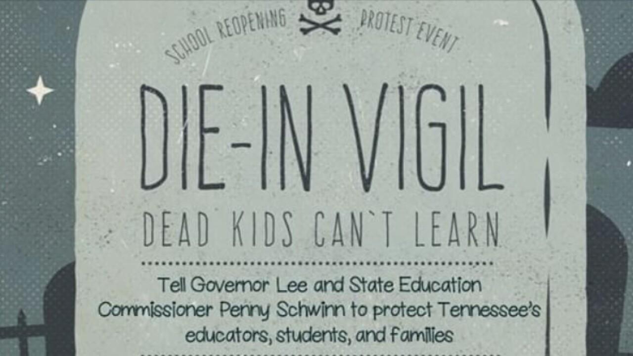 Die-in vigil