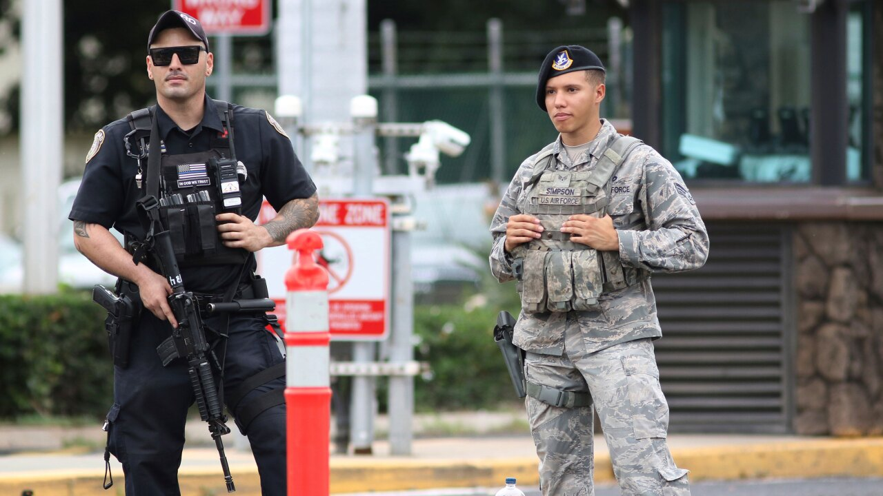 US sailor kills two employees on Joint Base Pearl Harbor-Hickam before fatally shootingself