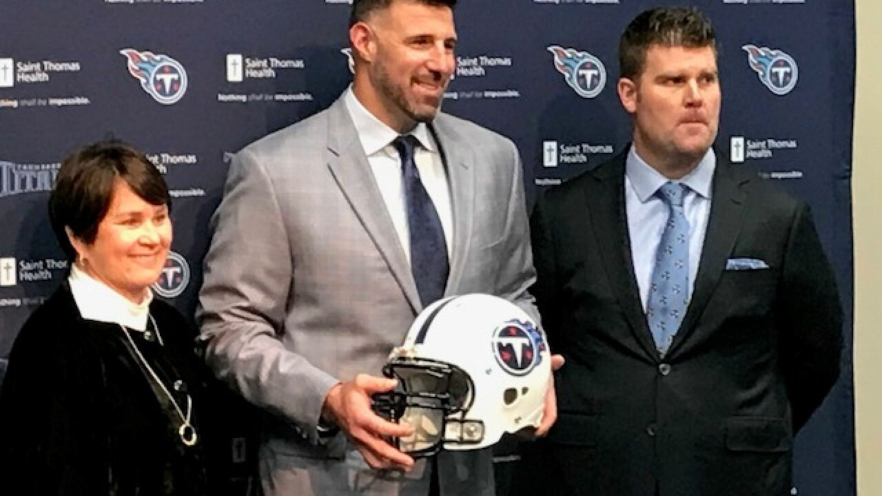 Vrabel Introduced As New Titans Coach