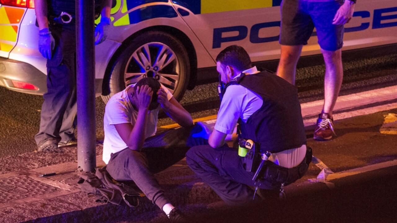London vehicle hits pedestrians, killing several