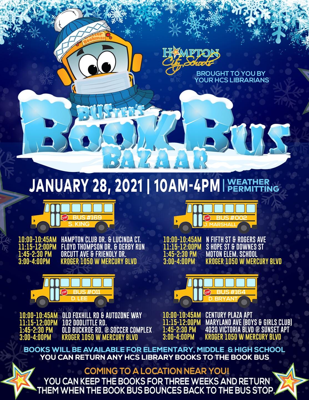 Hampton City Schools Book Bus