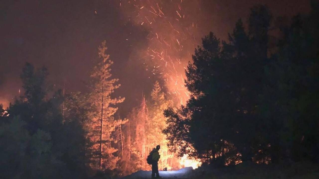 WVC fire crews in California
