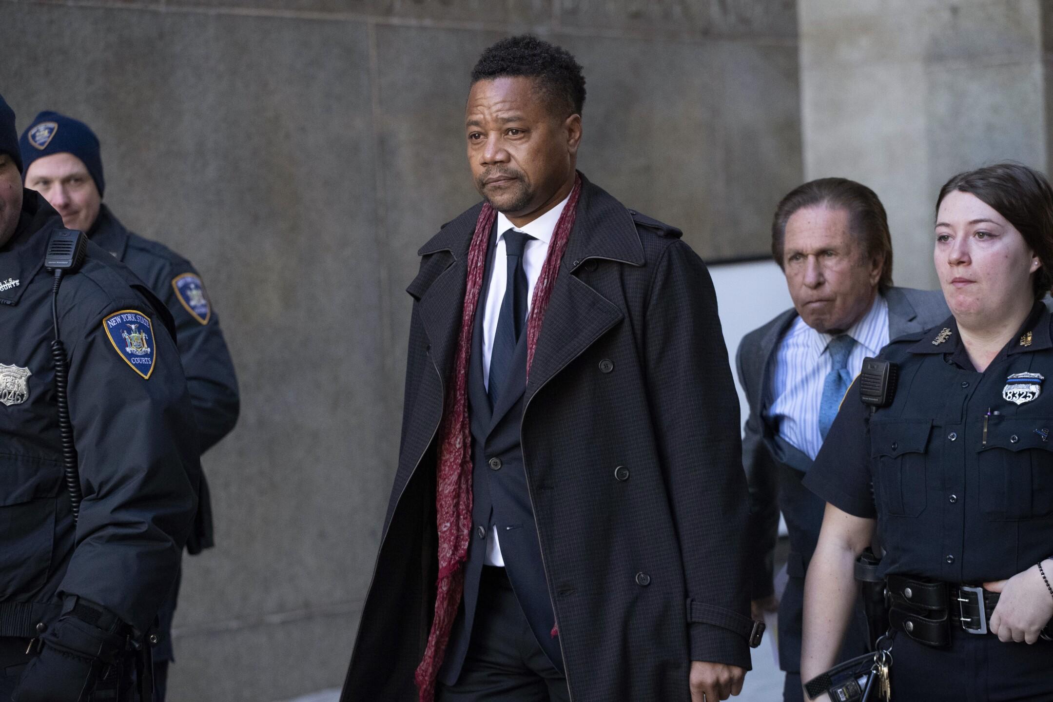 Photos: April trial set for Cuba Gooding Jr. in bar gropingcase