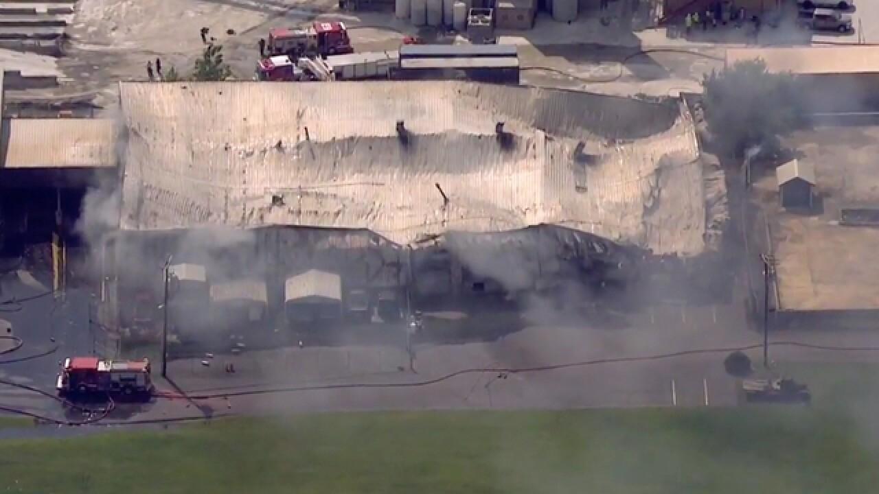 EPA Responds To Scene Of Advanced Plating Fire