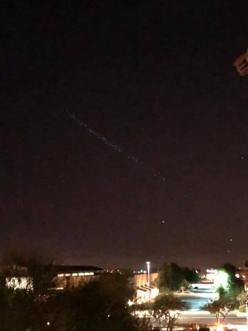 Mysterious lights appear over Queen Creek