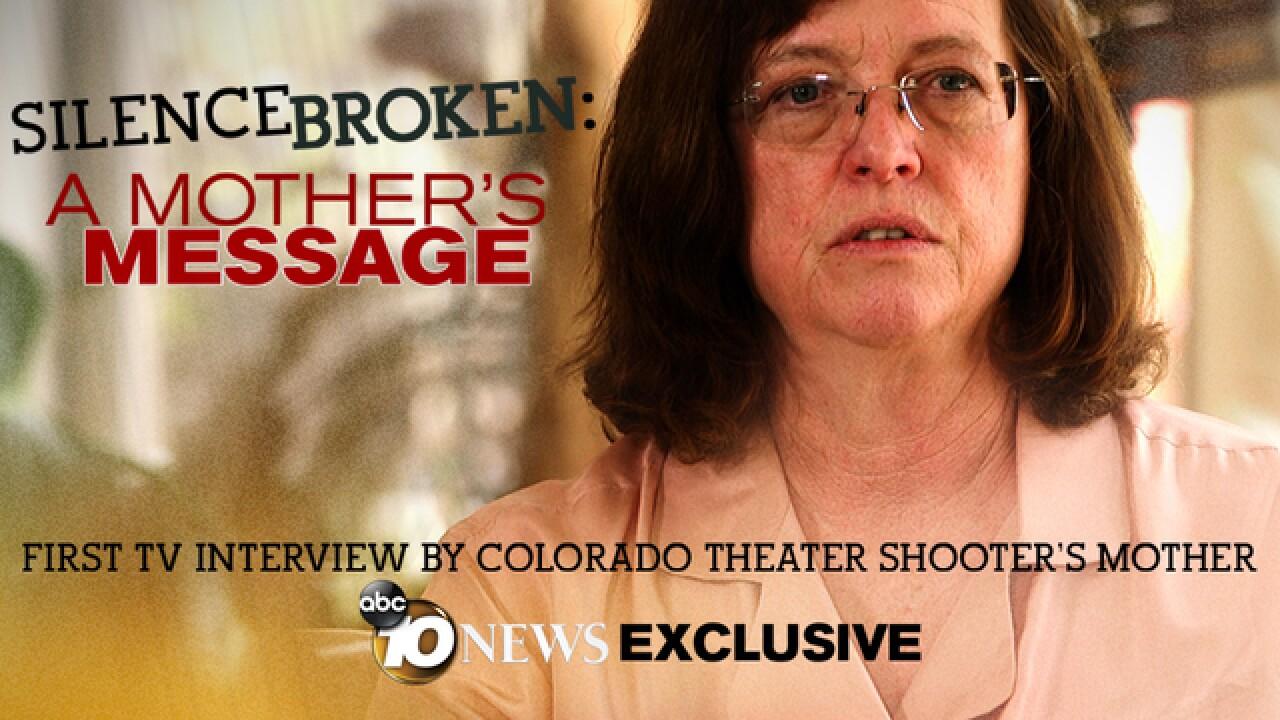 Aurora shooter James Holmes' mom breaks silence