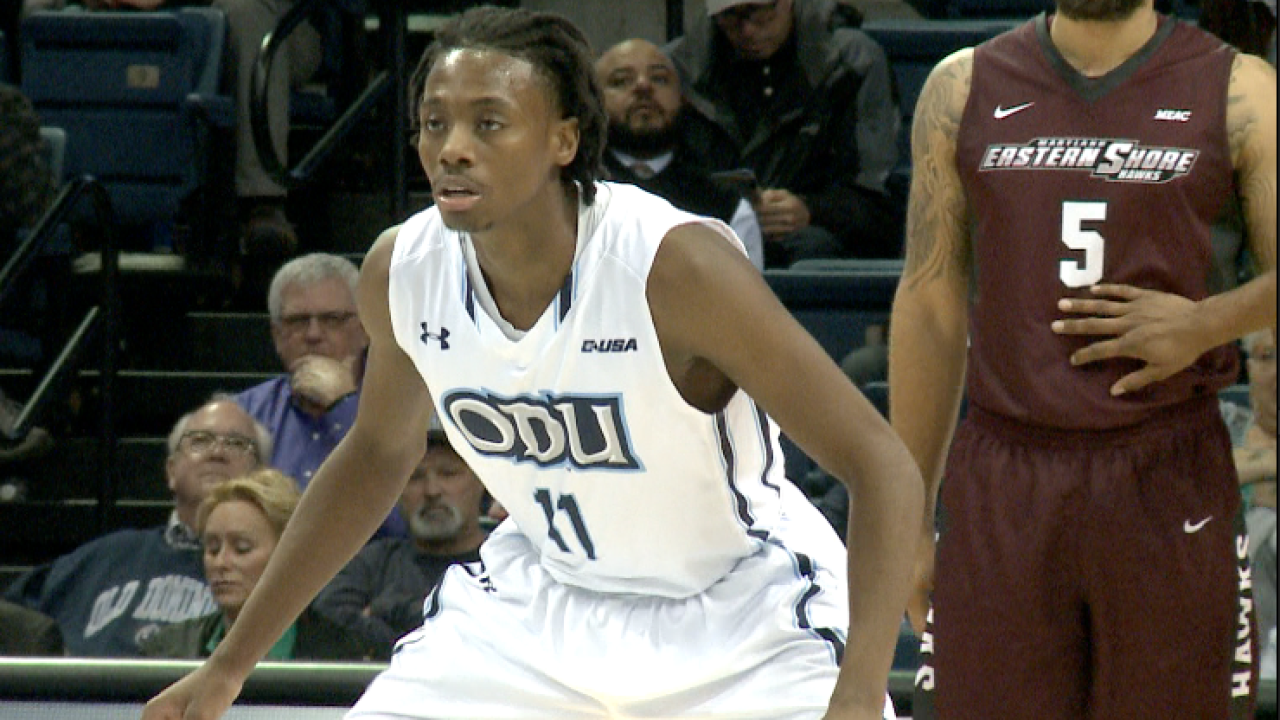 ODU men's basketball team stays perfect all-time vs. UMES with 83-44victory