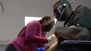 Summit County Public Health hosts pop-up clinic at Akron METRO transit station