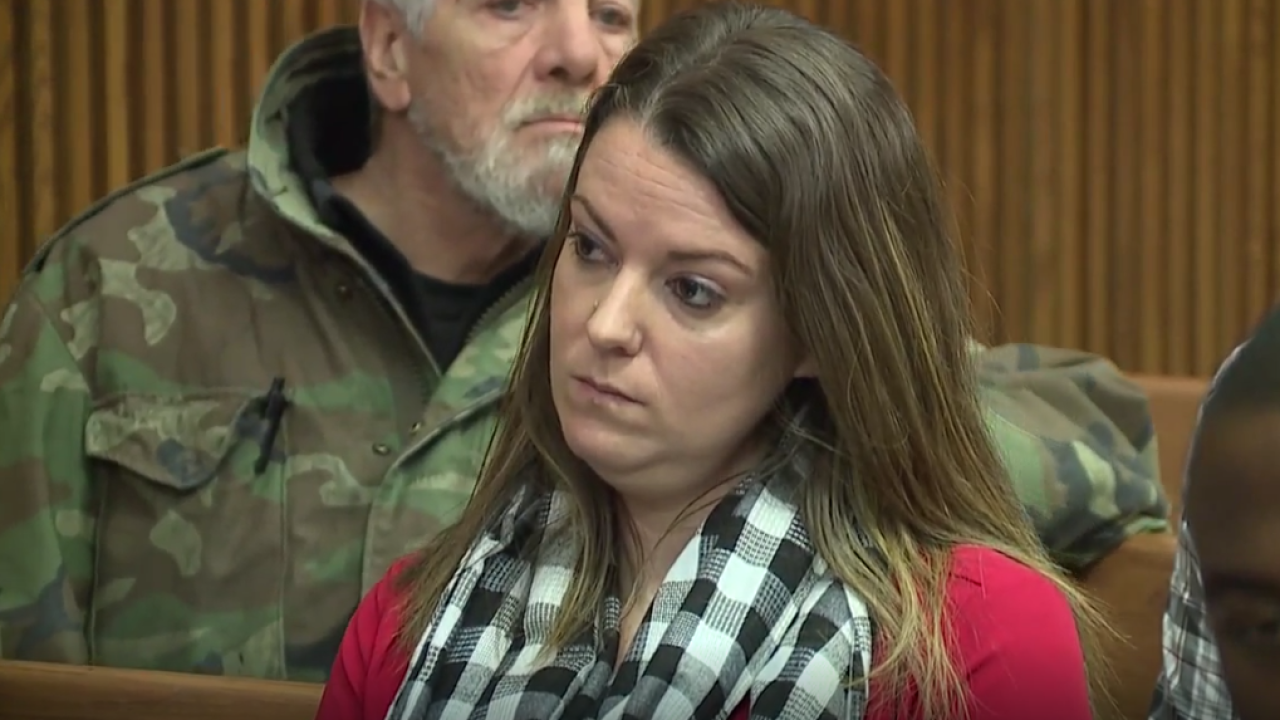 Laura Dunker appeared in Cuyahoga County Court on Jan. 6.