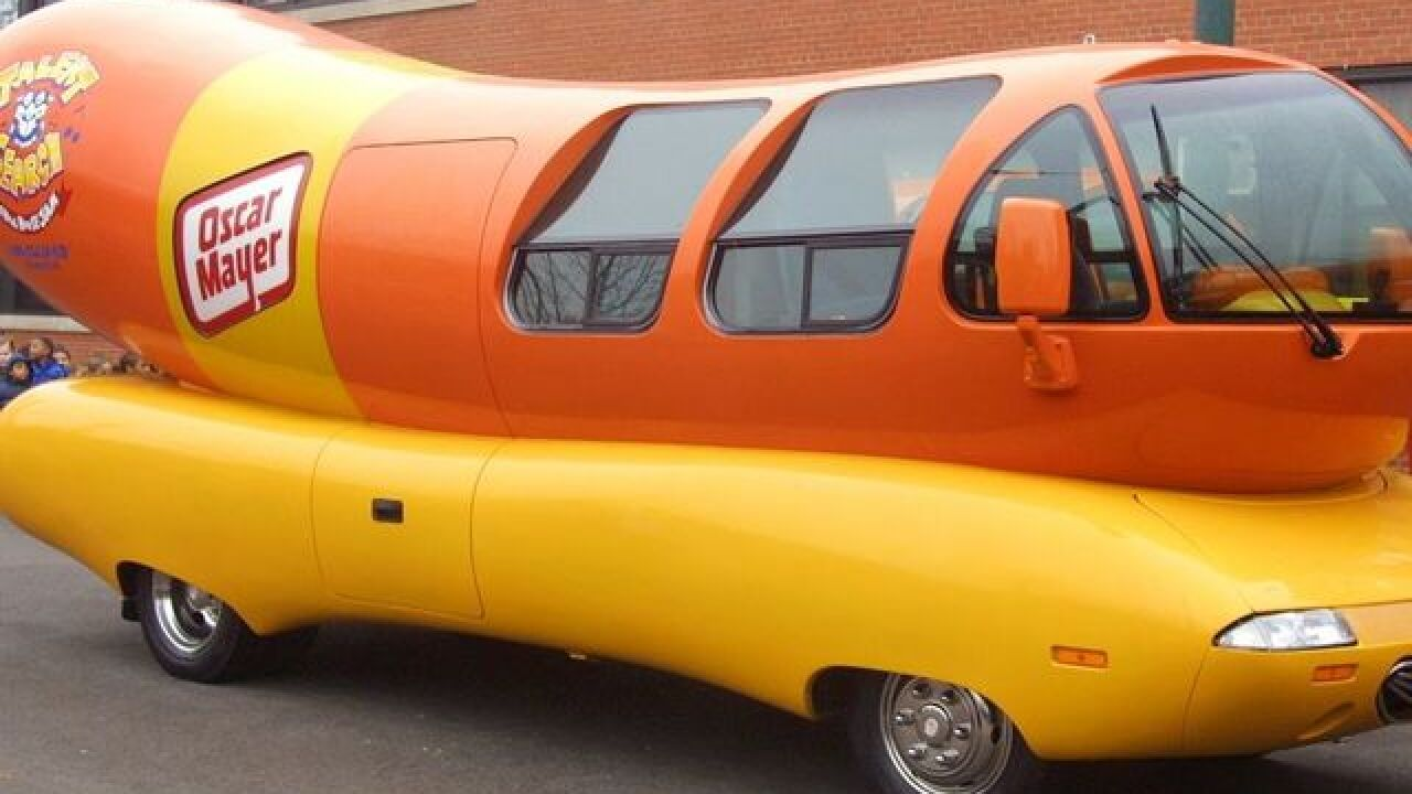 Oscar Mayer Wienermobile stopping at metro Detroit Meijer stores this weekend
