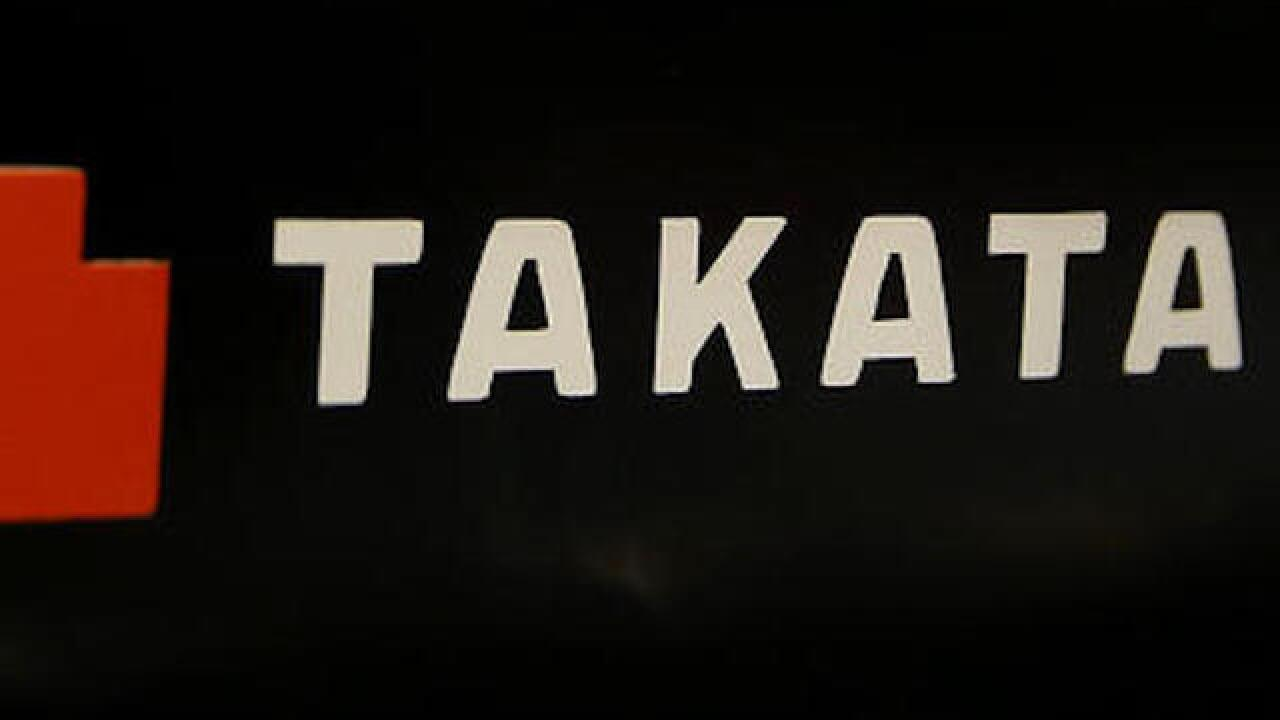 Takata issues recall on 2.7 million Ford, Nissan and Mazda vehicles