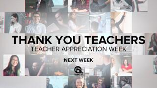 'Thank You Teachers Teacher Appreciation Week Next Week'