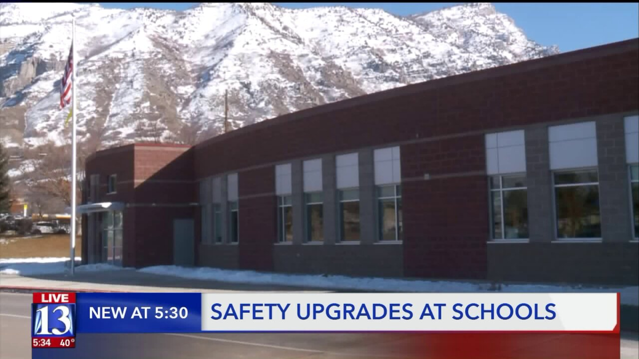 Provo School District adds new safety features to schools