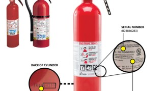RECALL: 37 million fire extinguishers recalled; One death reported