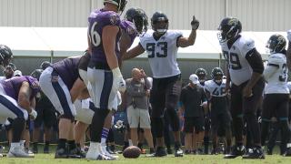 Ravens Jaguars Practice