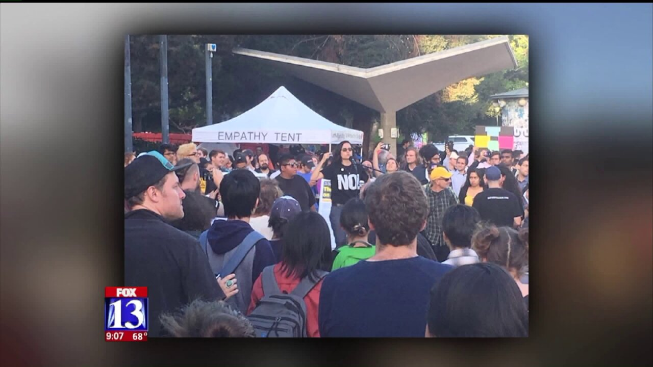U of U sends staff to Berkeley protests ahead of Ben Shapiro's speech inUtah