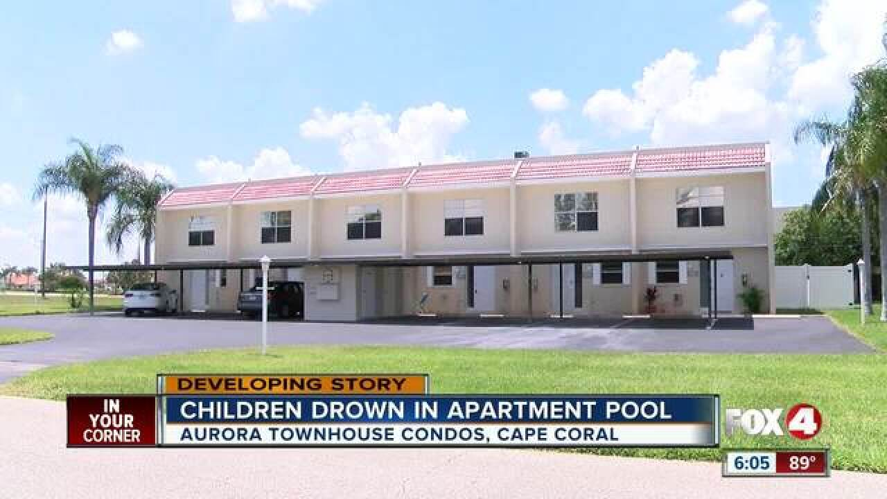 Two children drown in Cape Coral pool