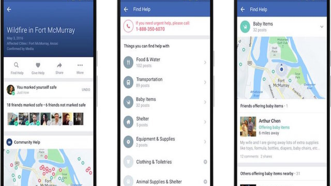 Facebook expands Safety Check to facilitate aid in emergencies