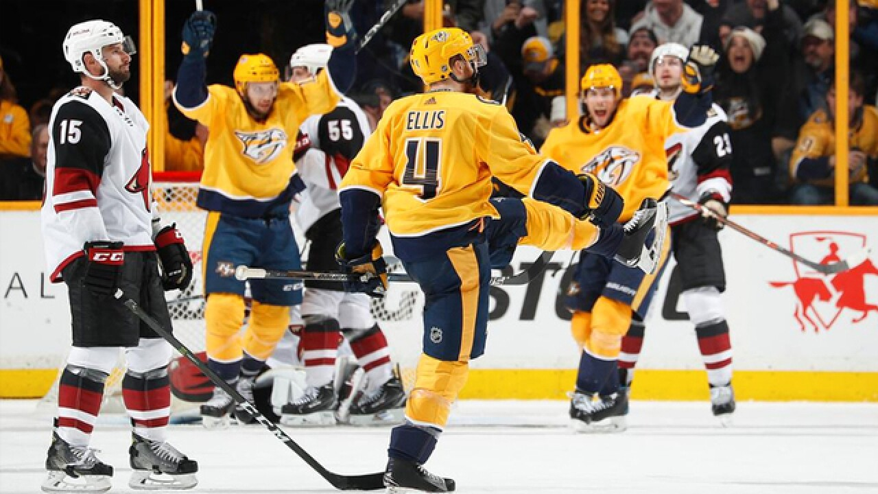 Predators Sign Ryan Ellis To 8-Year, $50M Contract