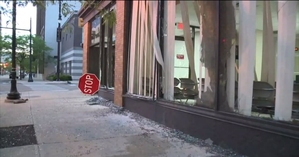 5 more people facing charges for riot in downtown Grand Rapids
