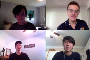 John Staley, Jake Burns, Ryland Wilson and Jacob Lee.