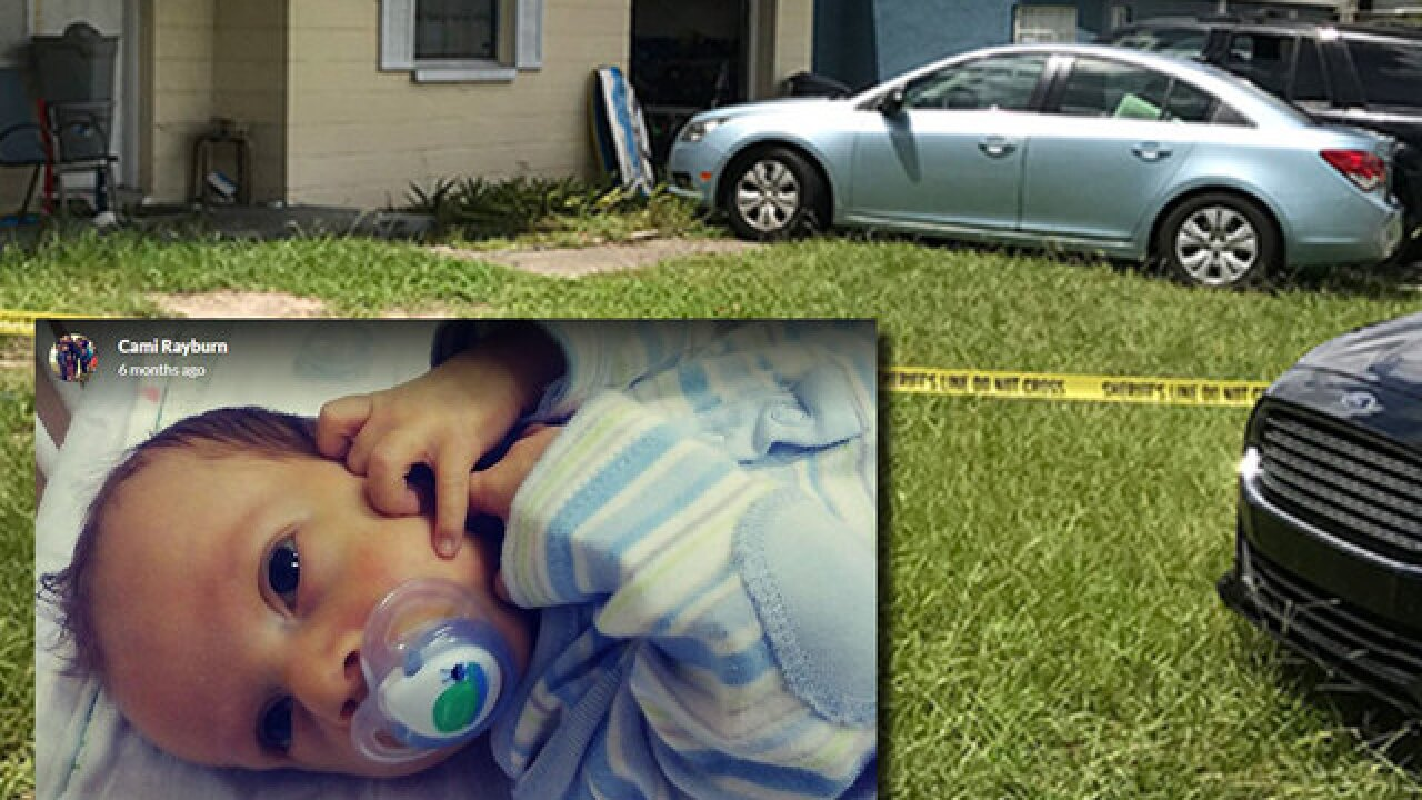 Child left in vehicle in Hernando County