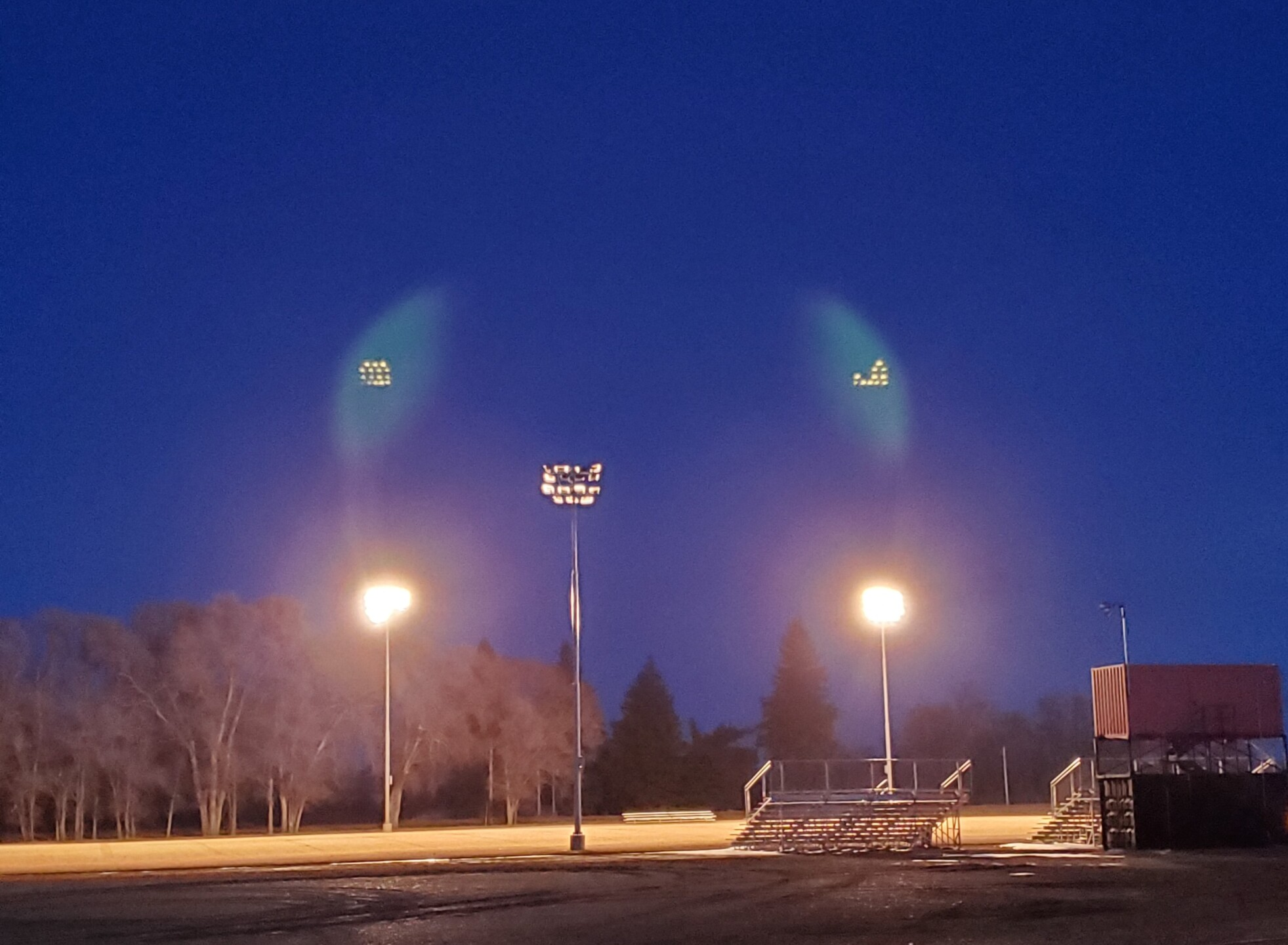 Savage High School football field