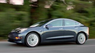 Tesla Model 3 going on display in San Diego showroom