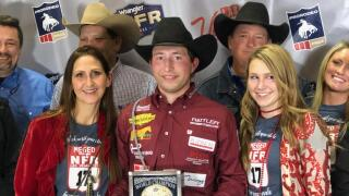 Haven Meged PRCA World Champion