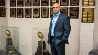 New Texas A&M-Kingsville football coach Mike Salinas