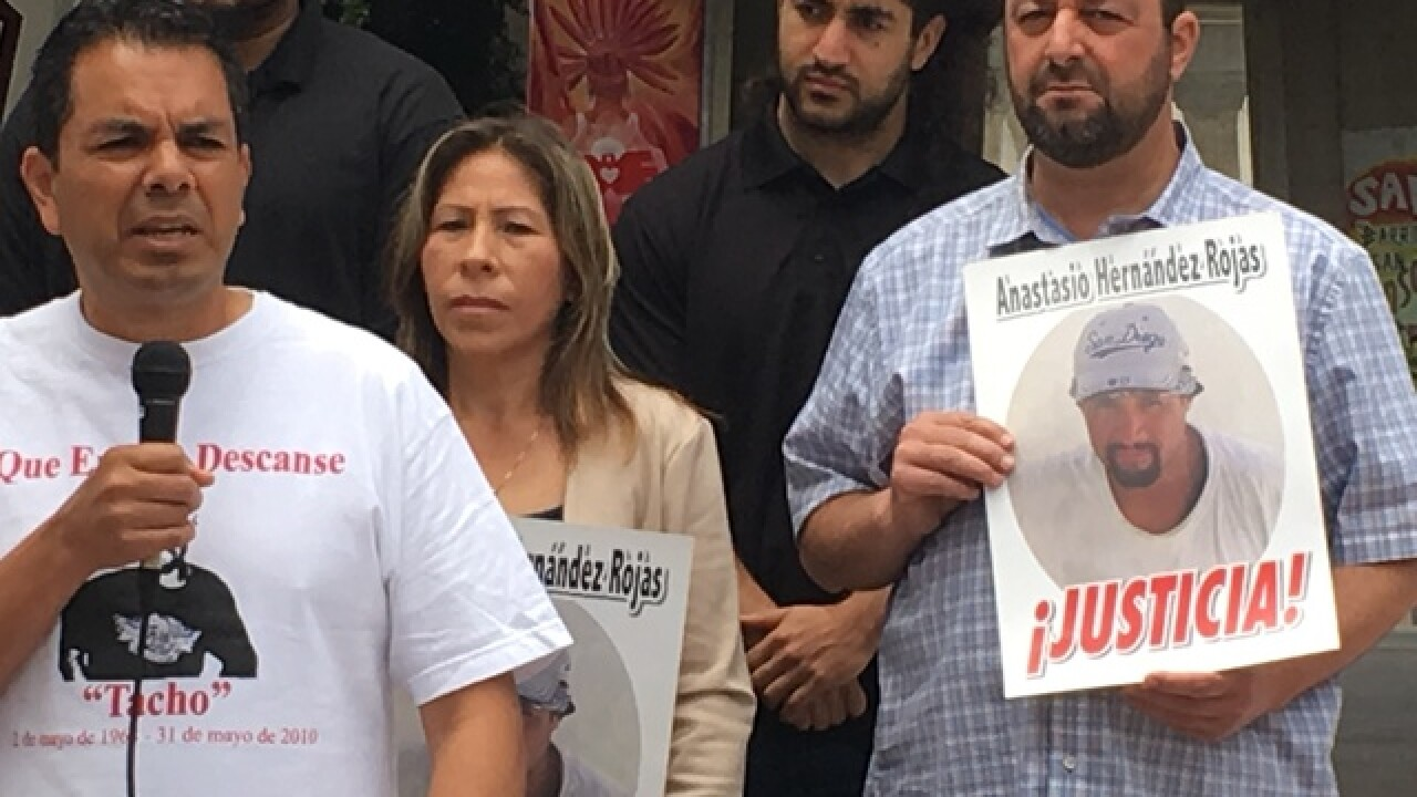 Group accuses Border Patrol of murder