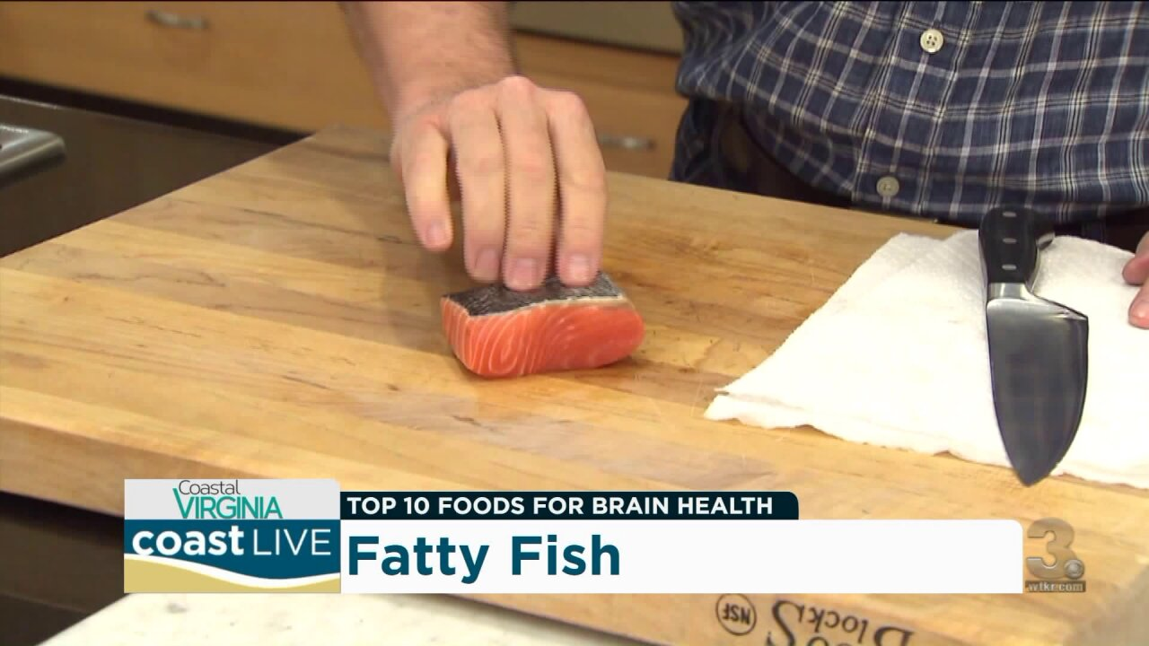 COVA Magazine cooks up a story on the best foods for brain health on CoastLive
