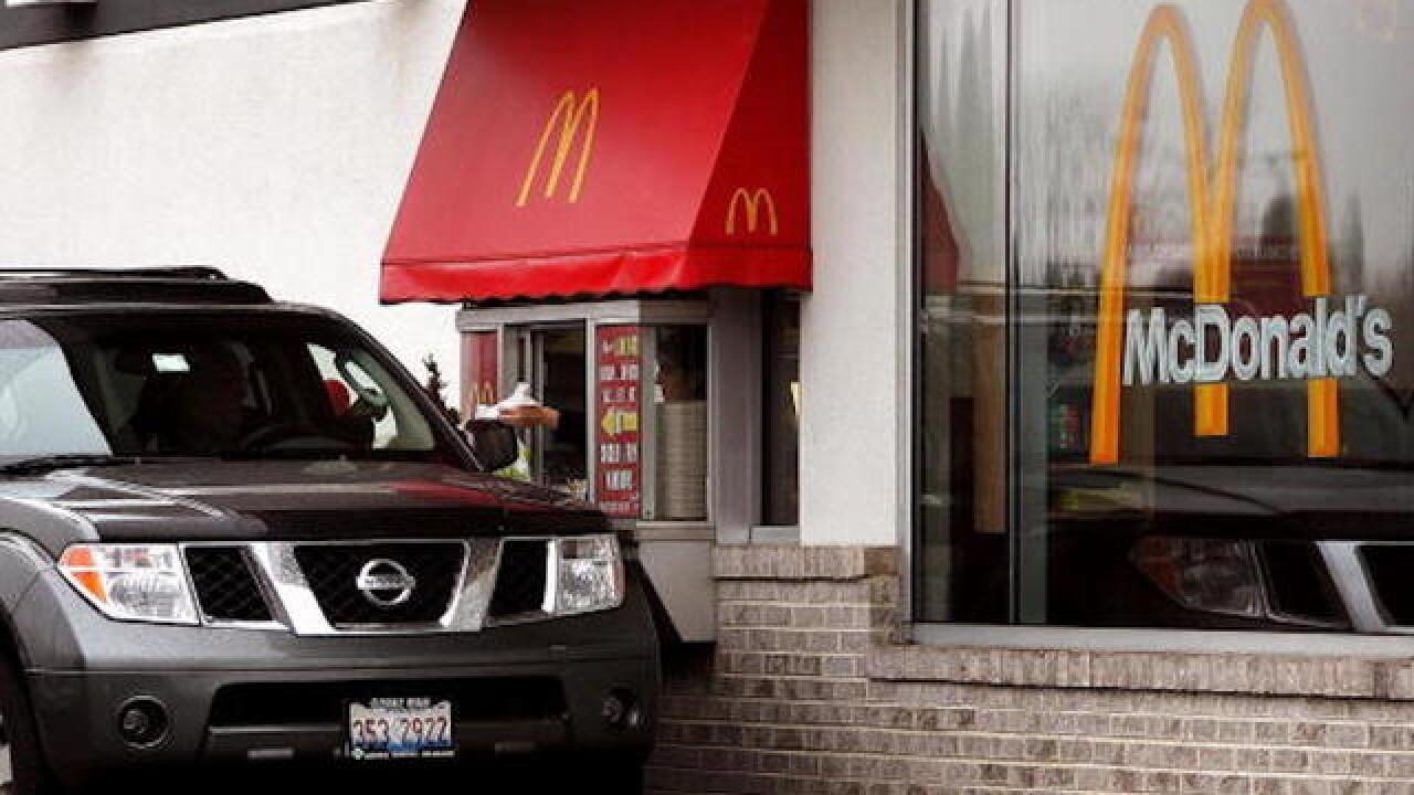 8-year-old drives 4-year-old sister to McDonald's drive-thru