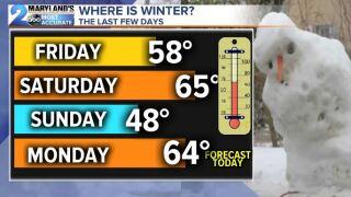 Winter Where Are you?