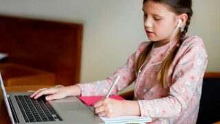 Some voicing concerns over children using cameras during at-home schooling