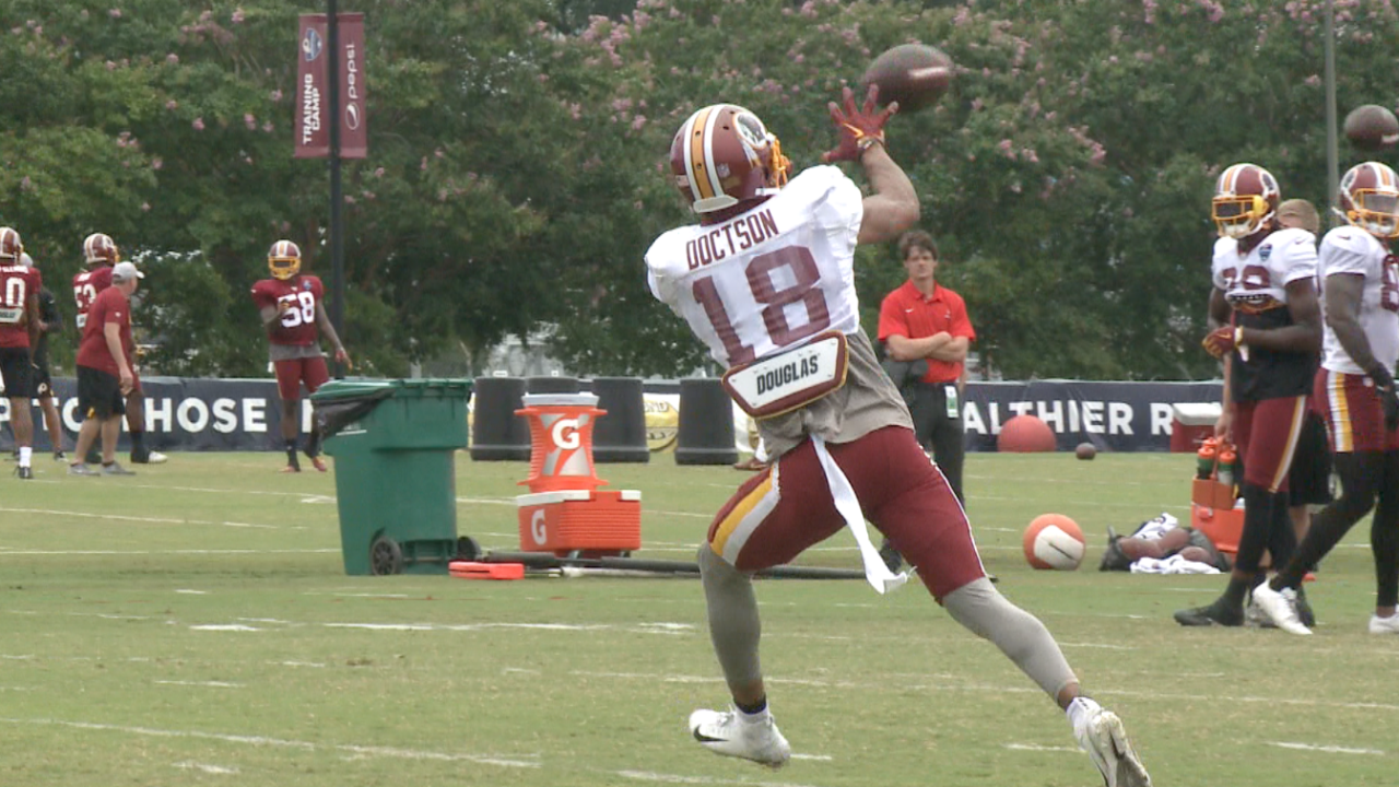 'Skins Scoop: Wide receiver Josh Doctson 'okay' after injury scare