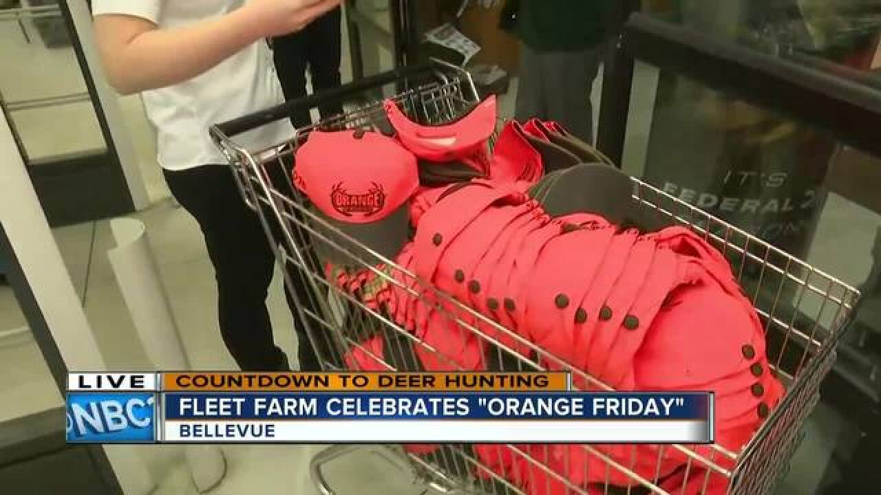 "Fleet Farm celebrates ""Orange Friday"""