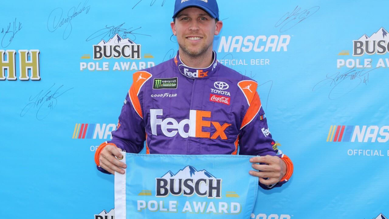 Denny Hamlin and Kyle Busch go 1-2 for Gibbs at Michigan