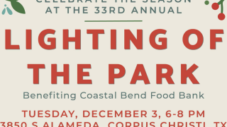 Lamar Park is getting lit and benefiting the Coastal Bend Food Bank
