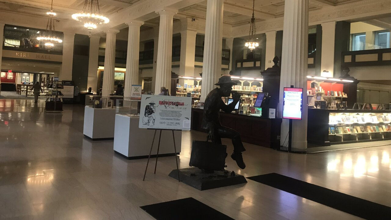 Kansas City library hours