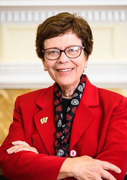 UW-Madison Chancellor Rebecca Blank