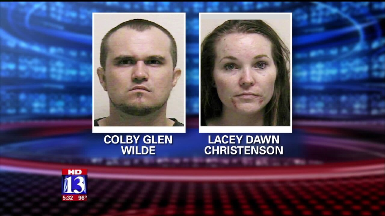 Utah County parents arrested for giving drugs to newborndaughter