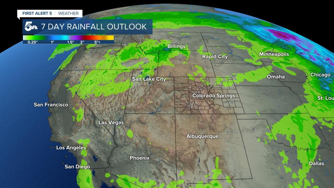 7 Day Rainfall Outlook