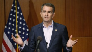Virginia governor and first lady test positive for COVID-19