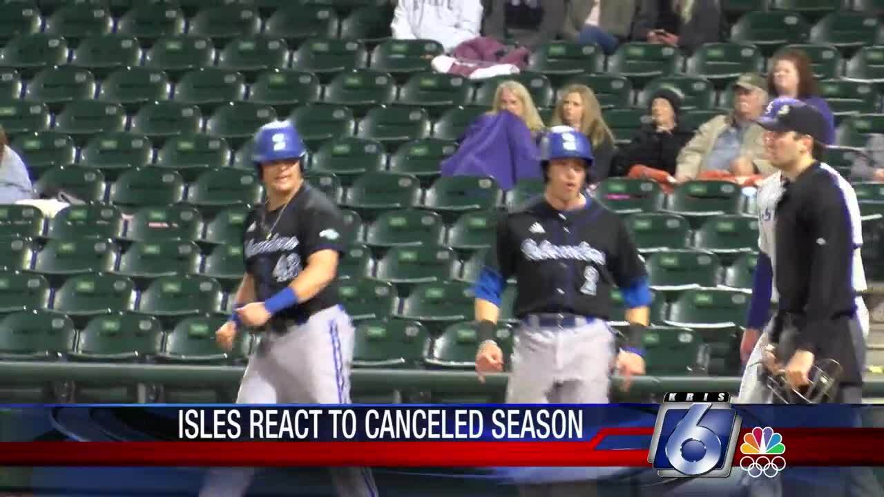 Texas A&M-Corpus Christi spring sport athletes cope with NCAA's decision